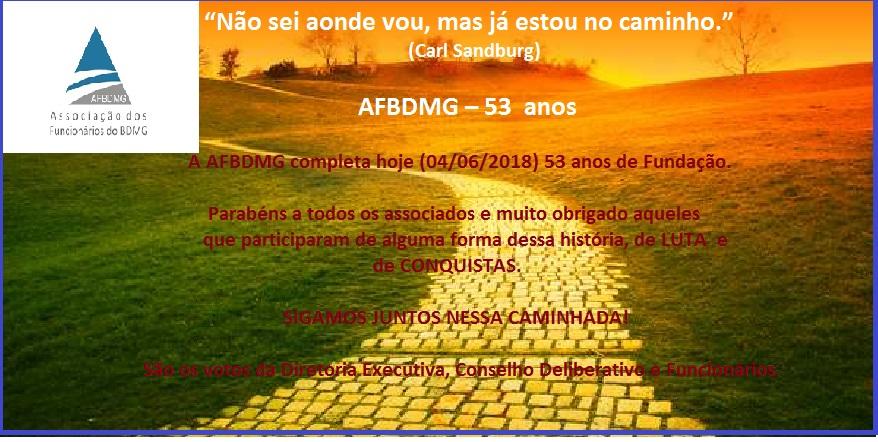 ANIVERSÁRIO AFBDMG